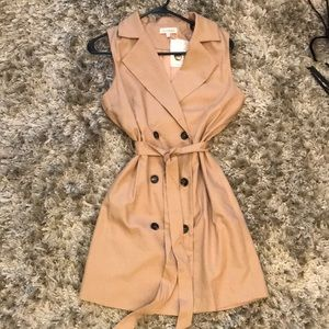 Super Cute Trench coat Style Dress